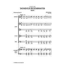 Novello Dominus Illuminatio SATB Composed by David Hill