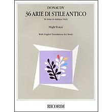 Hal Leonard Donaudy:  36 Arie Di Stile Antico for High Voice