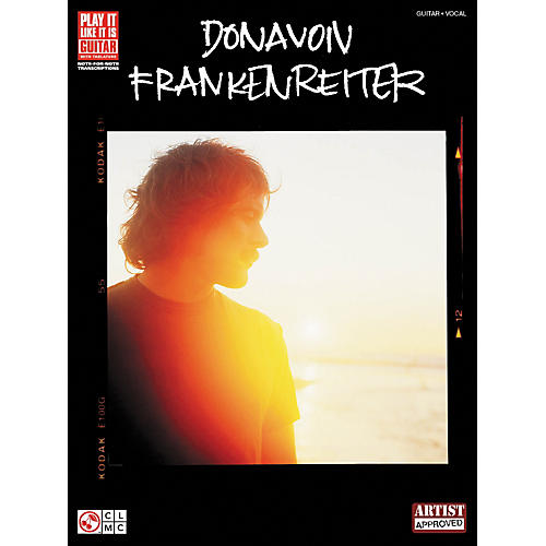 Hal Leonard Donavon Frankenreiter Guitar Tab Songbook