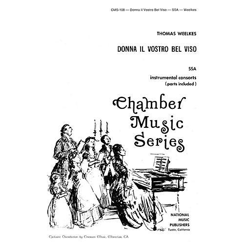 Hal Leonard Donna Il Vostro Bel Viso SSA composed by Robert Carl