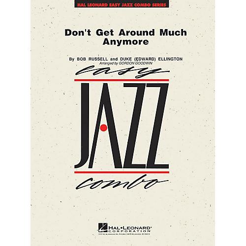 Hal Leonard Don't Get Around Much Anymore Jazz Band Level 2 Arranged by Gordon Goodwin