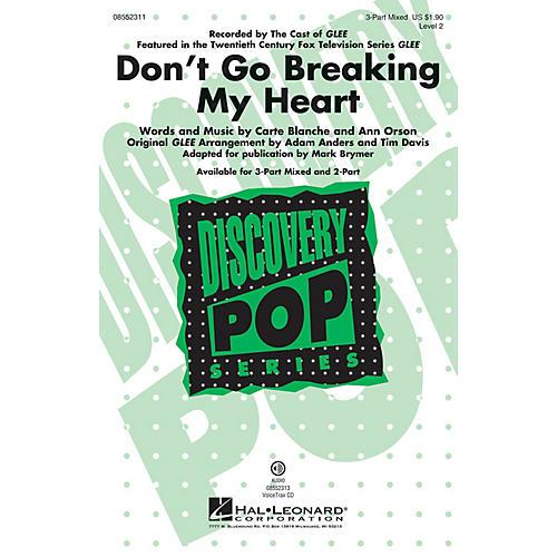 Hal Leonard Don't Go Breaking My Heart VoiceTrax CD by Elton John Arranged by Mark Brymer