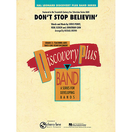 Cherry Lane Don't Stop Believin' - Discovery Plus Concert Band Series Level 2 arranged by Michael Brown