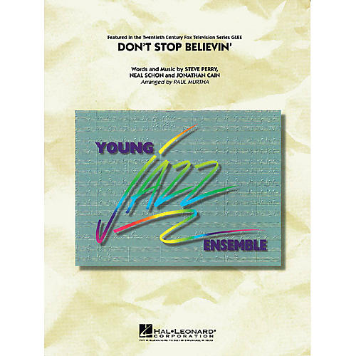 Cherry Lane Don't Stop Believin' Jazz Band Level 3 by Journey Arranged by Paul Murtha