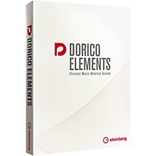 Steinberg Dorico Elements 2 Notation Software Digital Download