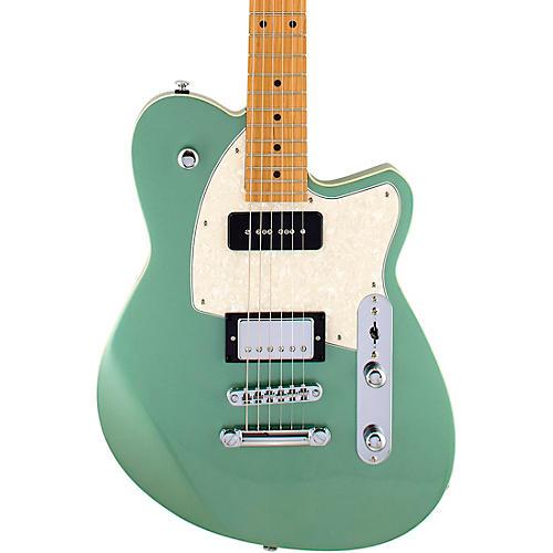 Reverend Double Agent OG Roasted Maple Fingerboard Electric Guitar Metallic Alpine