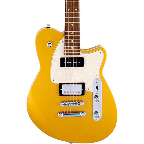 Reverend Double Agent OG Roasted Pau Ferro Fingerboard Electric Guitar Venetian Gold