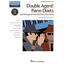 Hal Leonard Double Agent! Piano Duets Piano Library Series Book by Various (Level Inter)