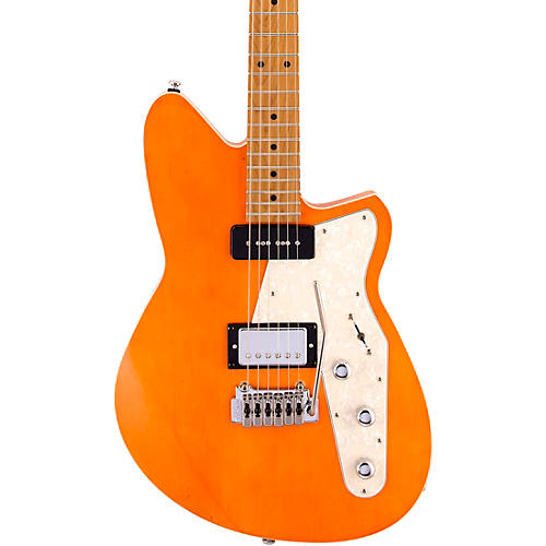 Reverend Double Agent W Maple Fingerboard Electric Guitar Rock Orange