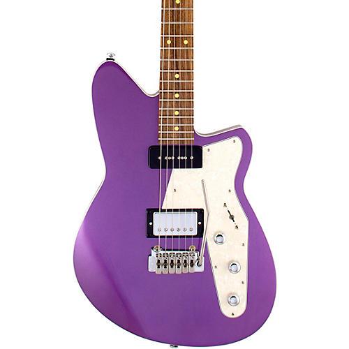 Reverend Double Agent W Roasted Pau Ferro Fingerboard Electric Guitar Italian Purple