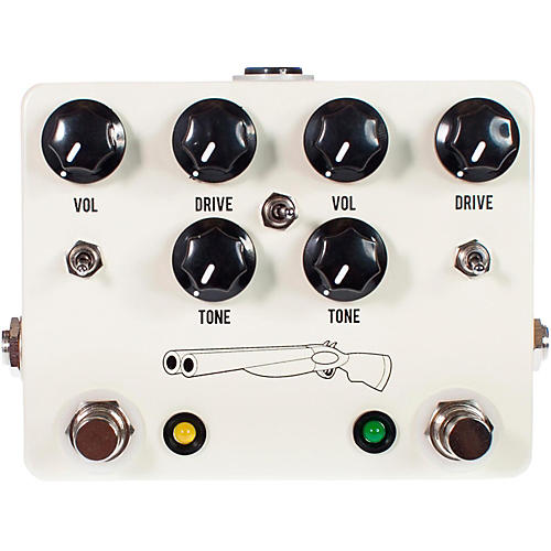 JHS Pedals Double Barrel V4 Dual Overdrive Guitar Effects Pedal
