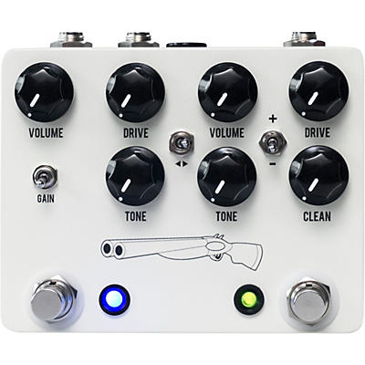 JHS Pedals Double Barrel V4 Overdrive Effects Pedal