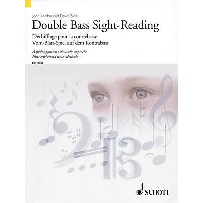 Schott Double Bass Sight-Reading - A Fresh Approach String Series Softcover Written by John Kember