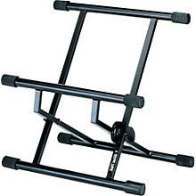 Open BoxQuik-Lok Double-Brace Low-Profile Amp Stand