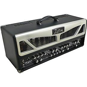 kustom double cross 100w tube guitar amp head musician 39 s friend. Black Bedroom Furniture Sets. Home Design Ideas
