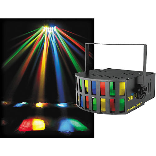 CHAUVET DJ Double Derby Sound Activated Effect Light
