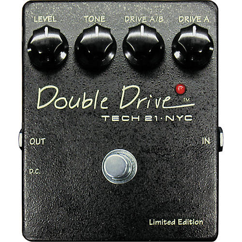 Tech 21 Double Drive Cascading Dual Distortion Pedal