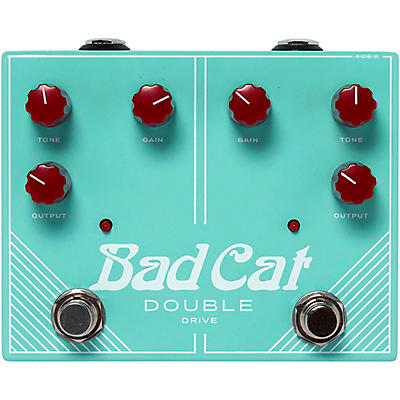 Bad Cat Double Drive Dual Stackable OIverdrive Effects Pedal