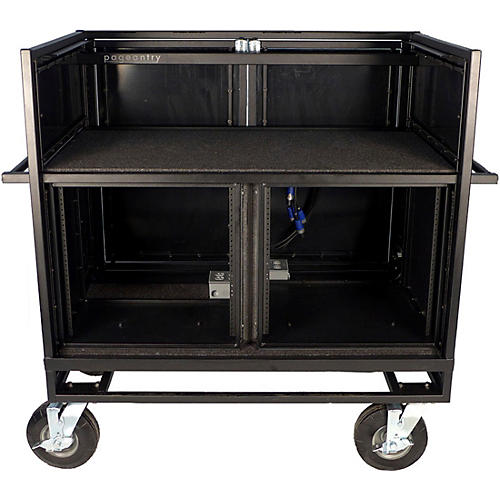 Pageantry Innovations Double Mixer Cart Stealth Series Upgrade Condition 2 - Blemished Regular 190839816245