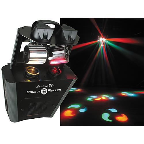 American DJ Double Roller DMX Dual Scanner Effect Light