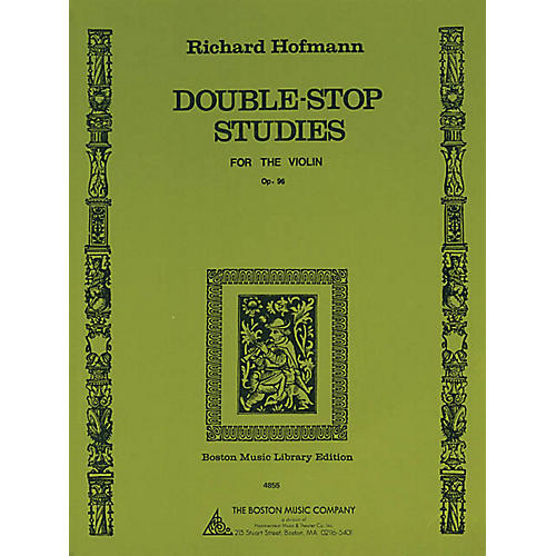 Music Sales Double-Stop Studies (for the Violin, Op. 96) Music Sales America Series Written by Richard Hofmann
