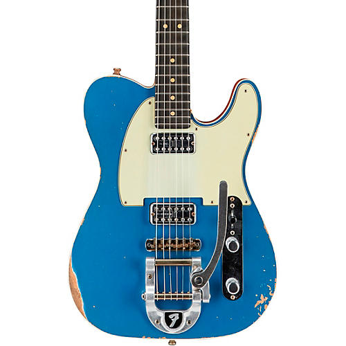 Fender Custom Shop Double TV Jones Relic Telecaster with Bigsby Electric Guitar
