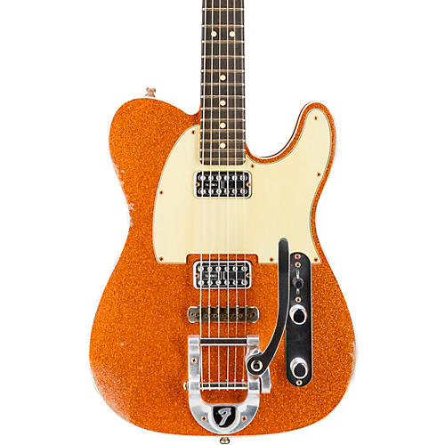 fender custom shop double tv jones telecaster relic electric guitar with bigsby musician 39 s friend. Black Bedroom Furniture Sets. Home Design Ideas