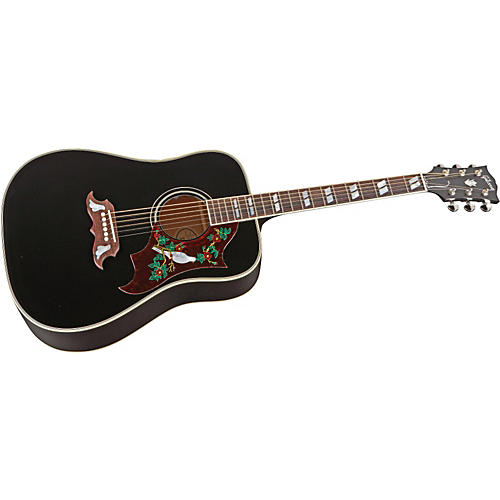 Gibson Dove Ebony Finish Acoustic-Electric Guitar