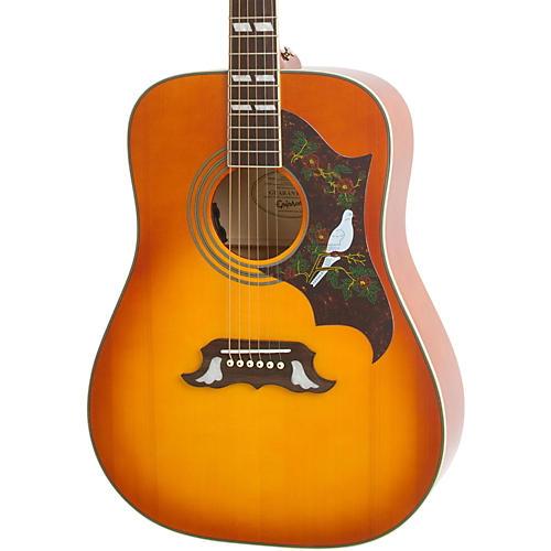 Epiphone Dove Studio Acoustic-Electric Guitar Vintage Burst