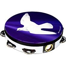 Dove Tambourine 8 in. 8 Jingle