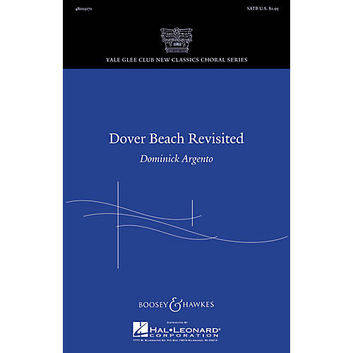 Boosey and Hawkes Dover Beach Revisited SATB composed by Dominick Argento