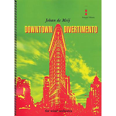 Amstel Music Downtown Divertimento Concert Band Level 3 Composed by Johan de Meij