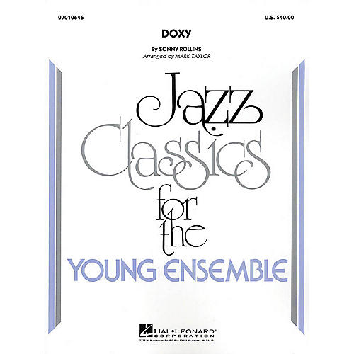 Hal Leonard Doxy Jazz Band Level 3 Arranged by Mark Taylor