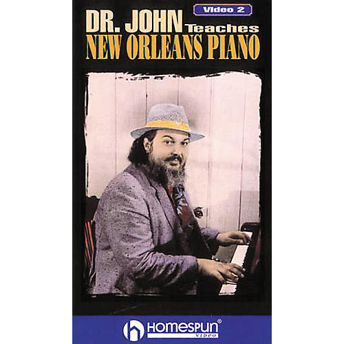Hal Leonard Dr. John Teaches New Orleans Piano - Video Two