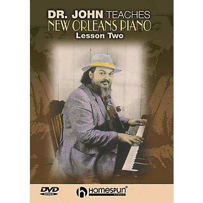 Homespun Dr. John Teaches New Orleans Piano (DVD Two) Homespun Tapes Series DVD by Dr. John (Mac Rebennack)