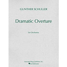 Associated Dramatic Overture for Orchestra (1951) (Miniature Full Score) Study Score Series by Gunther Schuller