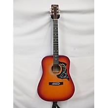 Harmony Dreadnought Acoustic Guitar