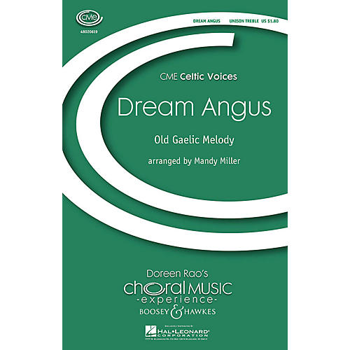 Boosey and Hawkes Dream Angus (CME Celtic Voices) UNIS arranged by Mandy Miller