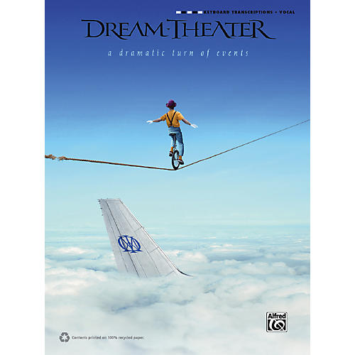 Alfred Dream Theater - A Dramatic Turn of Events Keyboard Transcription Book