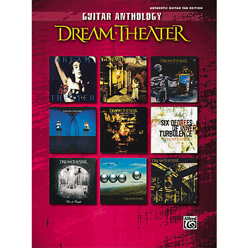 Alfred Dream Theater - Guitar Anthology