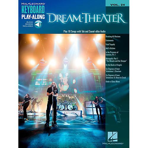 Hal Leonard Dream Theater - Keyboard Play-Along Vol. 24 Book/Audio Online