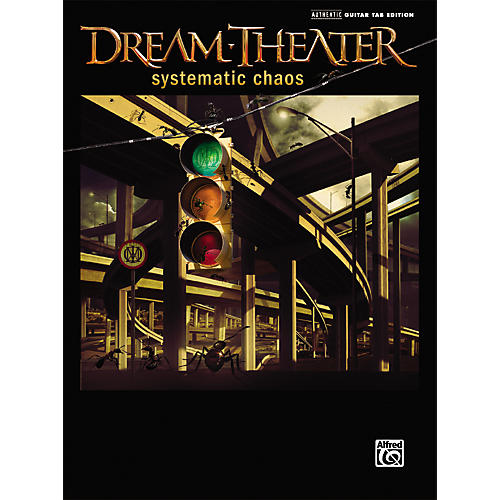 Alfred Dream Theater - Systematic Chaos Guitar Tab Songbook