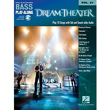 Hal Leonard Dream Theater (Bass Play-Along Volume 47 Book/Online Audio) Bass Play-Along Series Softcover Audio Online