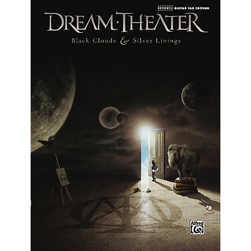 Alfred Dream Theater: Black Clouds & Silver Linings - Guitar Tab Book