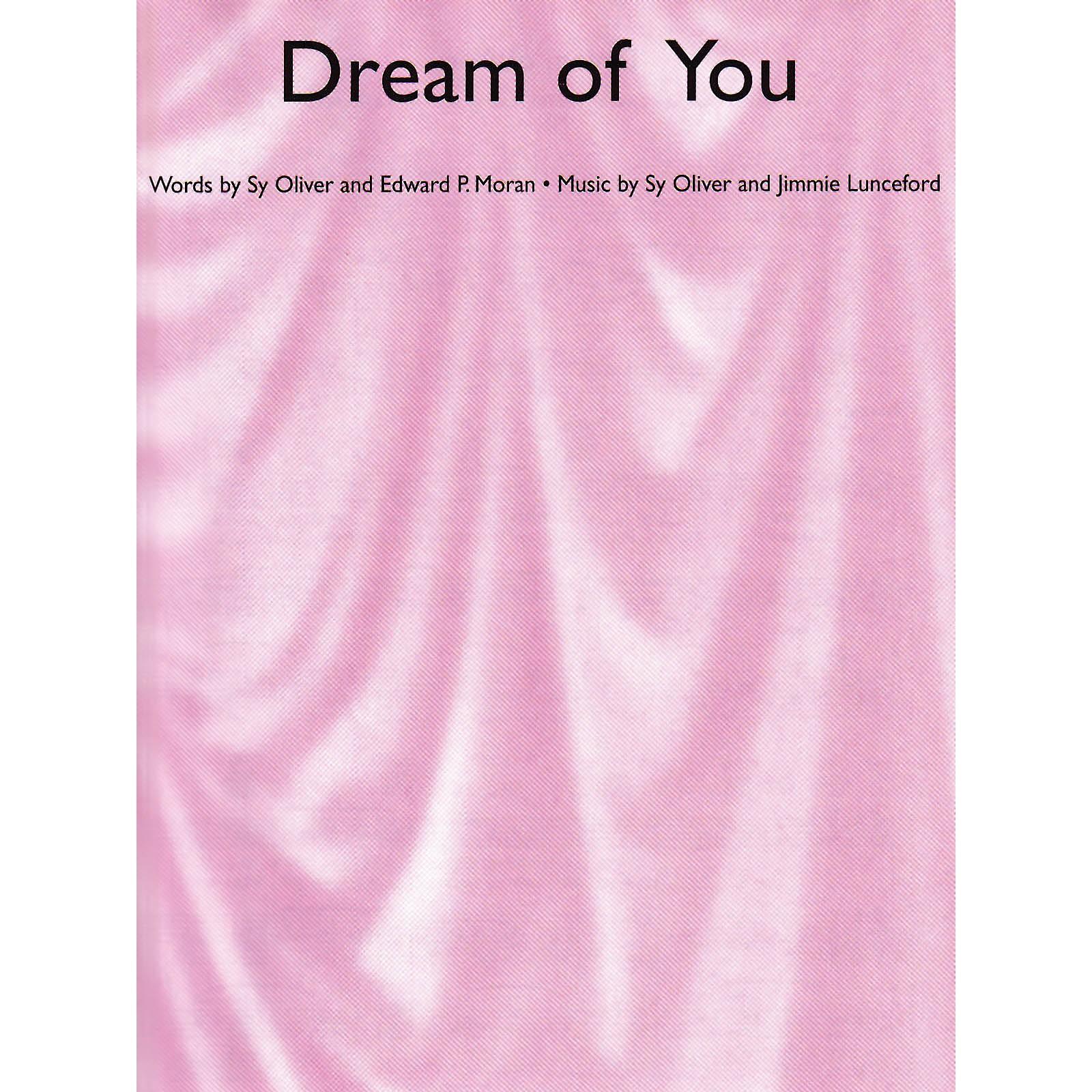 Music Sales Dream of You Music Sales America Series