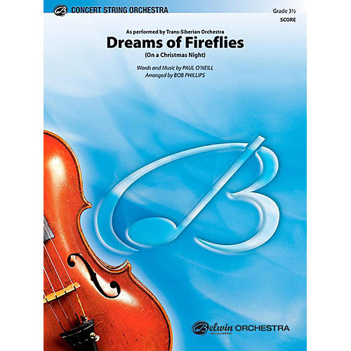 Alfred Dreams of Fireflies String Orchestra Level 3.5 Set