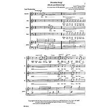 Transcontinental Music Dremlen Feygl (Birds Are Drowsing) SATB arranged by Joshua Jacobson