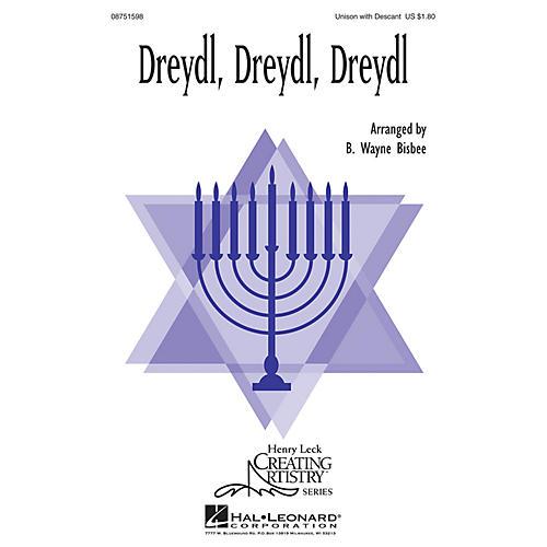 Hal Leonard Dreydl, Dreydl, Dreydl 2-Part arranged by B. Wayne Bisbee