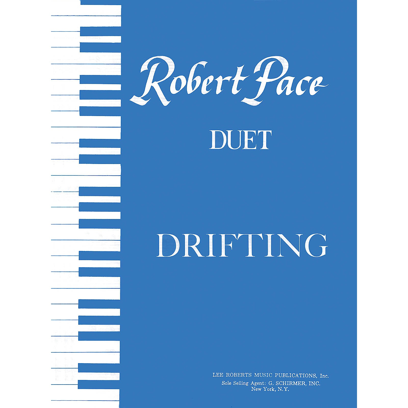 Lee Roberts Drifting (Duets, Blue (Book I)) Pace Duet Piano Education Series Composed by Robert Pace