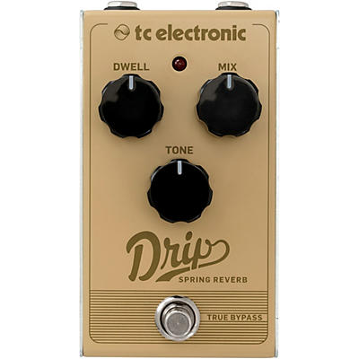 TC Electronic Drip Spring Reverb Effects Pedal